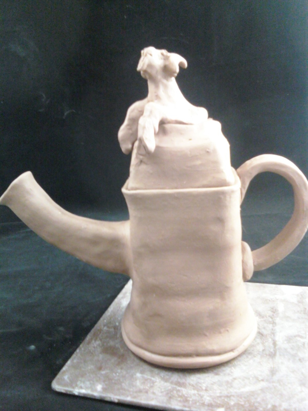 Beth's first teapot
