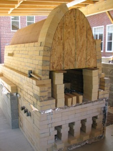 Bricking up arch