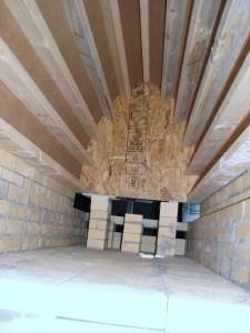 Inside Kiln arch