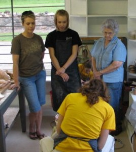 3 generations join Pincu Pottery for Friday Goes to Pot!