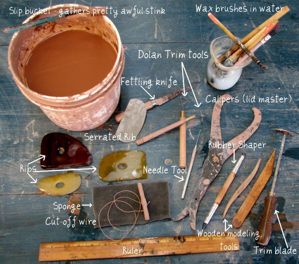 Pottery Tools I Use