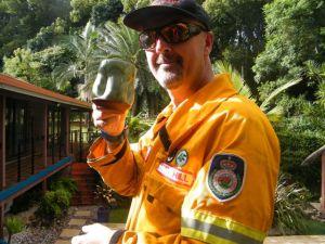 Australian Alan with Pincu Pot