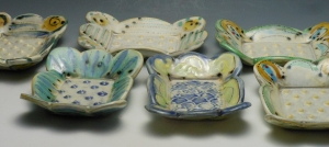 Soap Dishes, new work