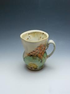 Mug with flower