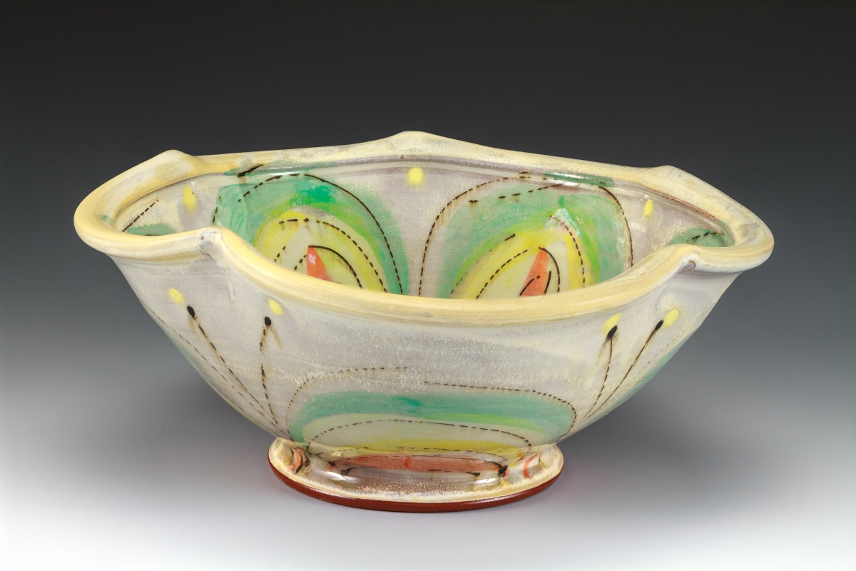 Bowl by Elise Delfield of Pincu Pottery