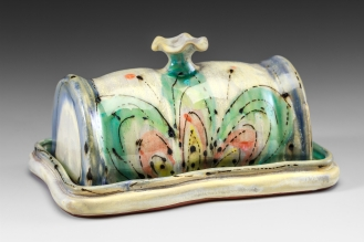 Butter Dish by Elise Delfield of Pincu Pottery