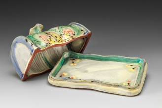Open Butter Dish by Elise Delfield of Pincu Pottery