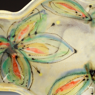 Oval Dish detail